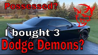 I just bought a 3rd Dodge Demon