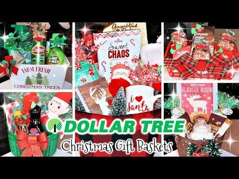 DOLLAR TREE CHRISTMAS GIFT BASKETS | DIY DOLLAR TREE $1 GIFT IDEAS 2019