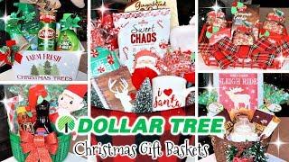 DOLLAR TREE CHRISTMAS GIFT BAS…