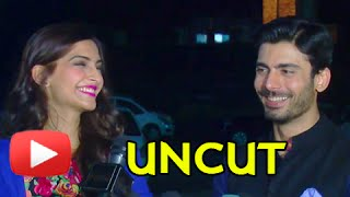 Fawad Khan - Sonam Kapoor 'Maa Ka Phone' Song | Uncut Video(Share on Facebook: http://goo.gl/p2fuVv Tweet now: http://goo.gl/PGHMV1 Catch the full media interaction of Fawad Khan and Sonam Kapoor on the sets of ..., 2014-08-19T11:21:58.000Z)