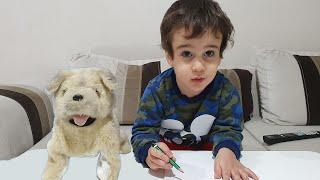 Buğra Ödev Yapmayınca! Kid That Not do Homework Fun Kids Video