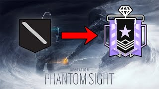 Getting The NEW Diamond In Operation Phantom Sight - Ranked Highlights - Rainbow Six Siege Gameplay