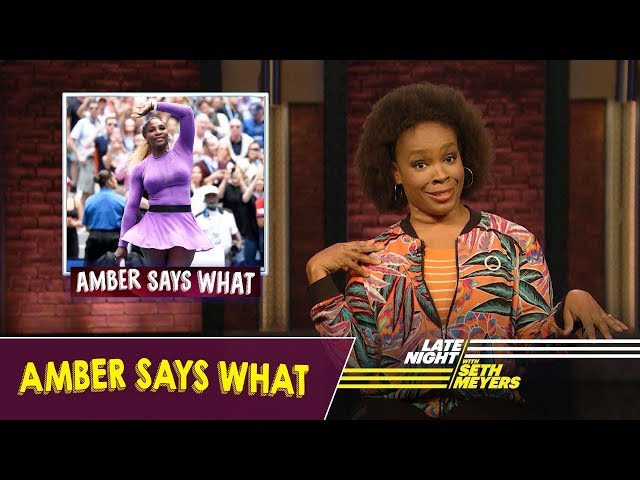 Amber Says What: The US Open, Hasbro Buys Death Row Records
