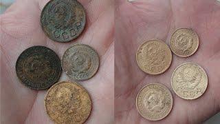 Лучший способ чистки Советских монет