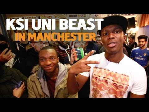 KSI Uni Beast - Manchester University