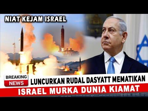 BERITA TERKINI ~ BALASAN ISRAEL UNTUK IRAN! ISRAEL KERAHKAN RUD.AL KI4MAT MEMAT.IKAN ~ KABAR ISRAEL
