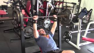 Rest Pause Training With 245 CGBP & 205 Incline Bench Press
