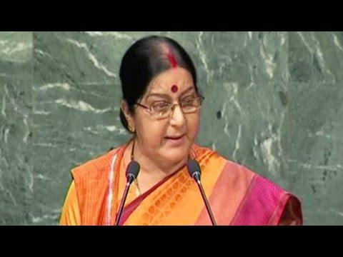 Terrorism Is The Biggest Violation Of Human Rights: Sushma Swaraj At UN