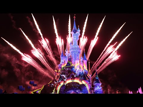 Disney Illuminations - Disneyland Paris 2019 - 4K Steadycam
