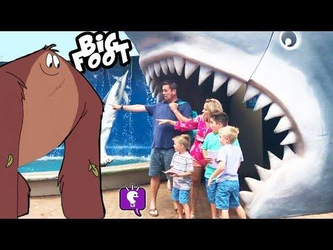 NCL Cruise Ship Review + Aquarium Review, Learn Sea Life-- Hawaii Trip Part 2 by HobbyKidsTV