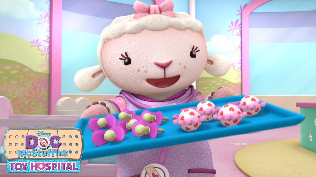 Lambie Is Ready Doc Mcstuffins Disney Junior Youtube