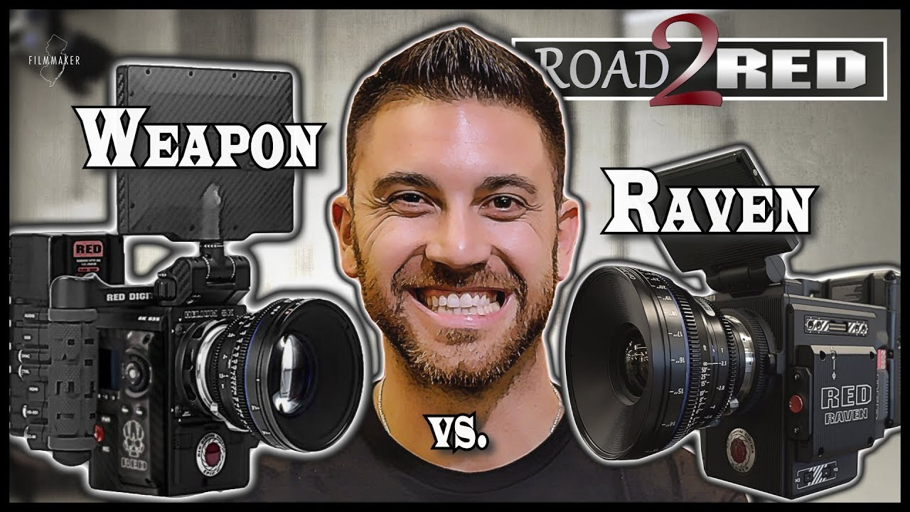 RED WEAPON Helium 8K vs RED RAVEN Dragon 4 5K Camera Comparison | 4K