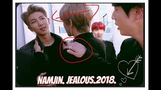 ''NAMJIN''- new Jealous, possessive moments 2018 MV.          {Part2}