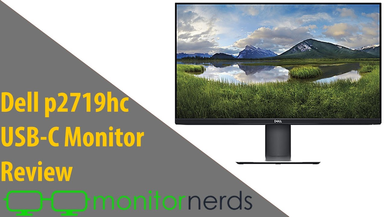 Dell P2719HC Review – Affordable 1080p USB-C Monitor