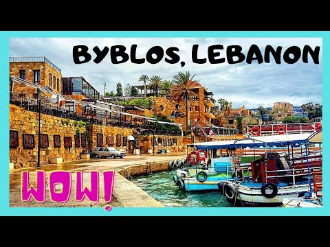 LEBANON, visiting BYBLOS, the OLDEST continuously inhabited city IN THE WORLD