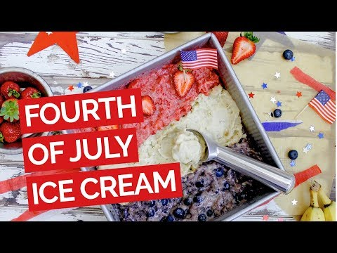 Vegan 4th of July Ice Cream Recipe