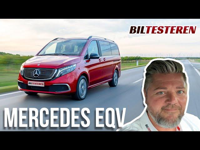 Familiebus på strøm! Mercedes-Benz EQV (præsentation)