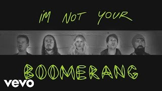 Walk Off The Earth - Boomerang (Lyric Video)