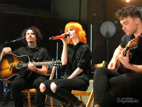 6/13 Paramore - Misguided Ghosts + The Only Exception @ The Meyerhoff, Baltimore, MD 5/11/15