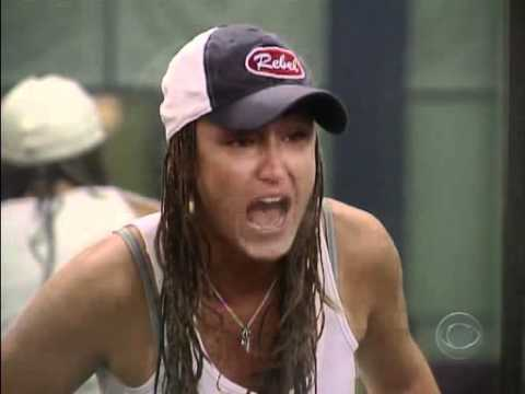 Amber vs Eric Fight Big Brother 8