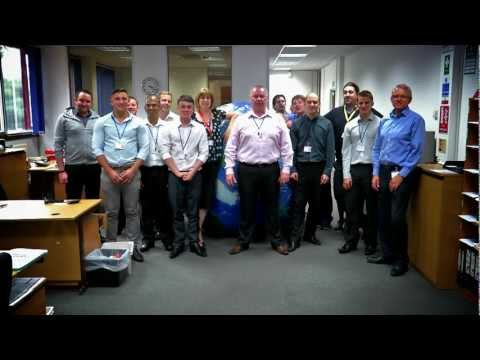 LONDON: Norman Global Logistics UK do the Global Roll 2012!