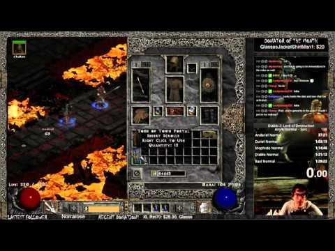 Diablo 2 Speedrun Tutorial Part 2: Hotkeys