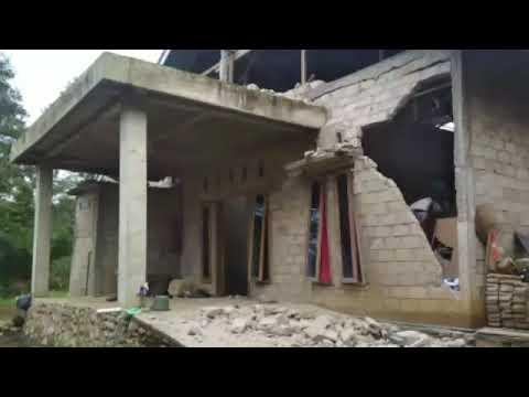 Kondisi setelah gempa di Solok Selatan Sumatera Barat
