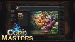 『コアマスターズ』 実況プレイ 「キクロ」 メジャーモード模擬戦 Core Masters : Major Japan