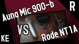 Auna mic 900-b vs Rode nt1a - Welches ist das bessere Mikrofon für Youtuber?