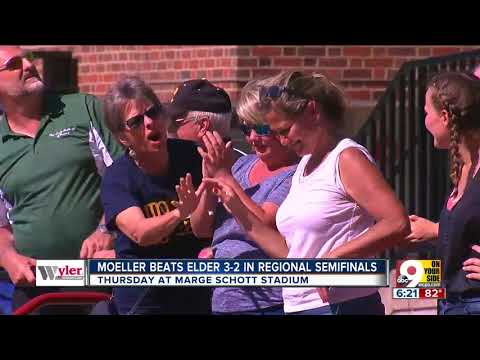 Moeller rallies past Elder in Division I  baseball playoff