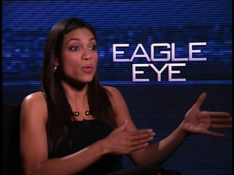 Rosario Dawson interview for Eagle Eye.