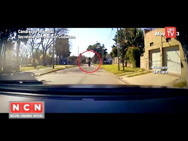 CINCO TV - La tecnología y el rápido accionar del COT permitieron recuperar una moto robada