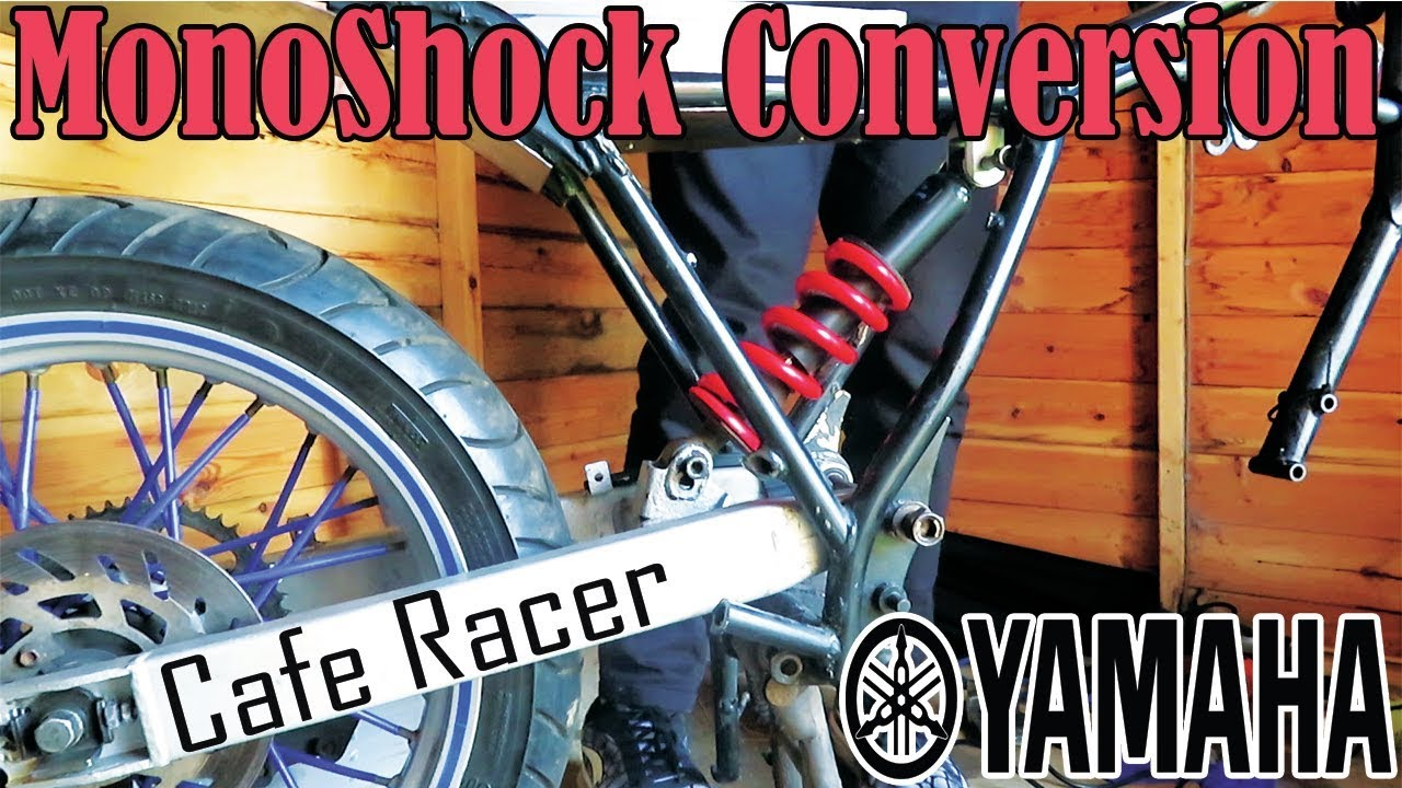 Monoshock Conversion | Yamaha XT125 Swing Arm Install | Cafe Racer Build  EP: 8