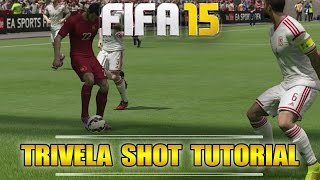 Fifa 16 (15) | Trivela Shot Tutorial | Outside Foot Shot | Tips & Tricks | by PHDxG