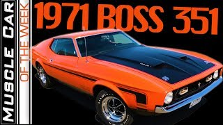 1971 Ford Mustang BOSS 351 - Muscle Car Of The Week Episode 292 V8TV