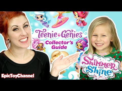 SHIMMER AND SHINE Teenie Genies from Nickelodeon & Nick JR + Floating Genie Palace