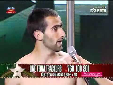 Line Team Traceurs Semi Final Portugal Tem Talento Portugal Got Talent