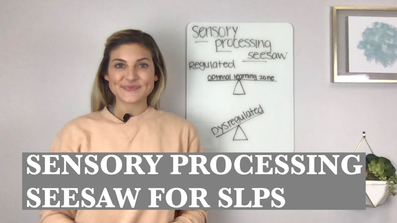 Sensory Processing Seesaw for SLPs: Top Autism Tips