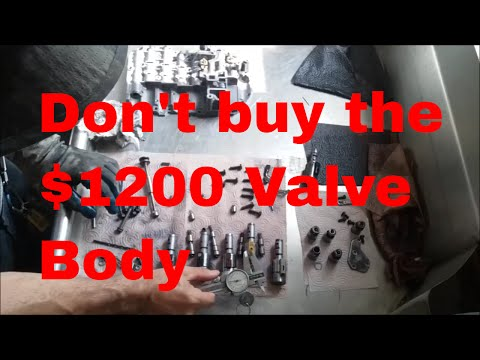 VW 09G TF60SN solenoids fix recondition repair upgrade shift kit