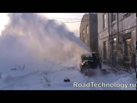 Шнекороторный снегоочиститель купить на автомобиль УАЗ