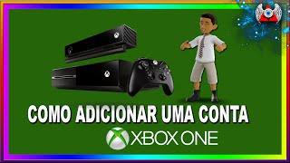 [ ONE ] • Como adicionar um perfil ou uma conta no Xbox One