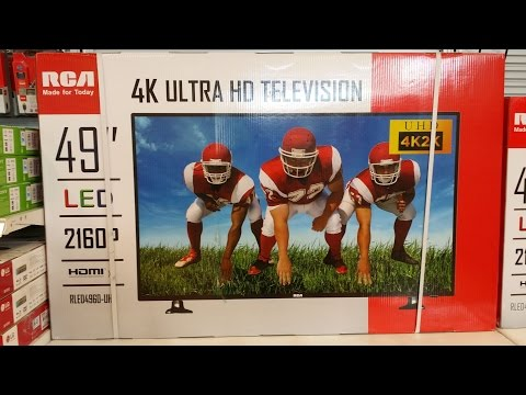 "49"" 4K Ultra HDTV at $449 - Why not?"