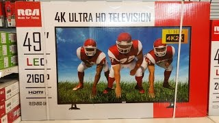 """49"""" 4K Ultra HDTV at $449 - Why not?"""