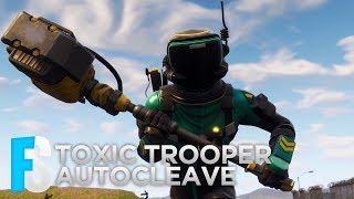 Fortnite Skin - Toxic Trooper - Autocleave Showcase (Fortnite: Battle Royale) #5