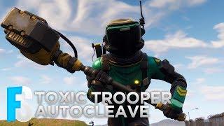 Fortnite Skin - Toxic Trooper & Autocleave Showcase (Fortnite: Battle Royale) #5