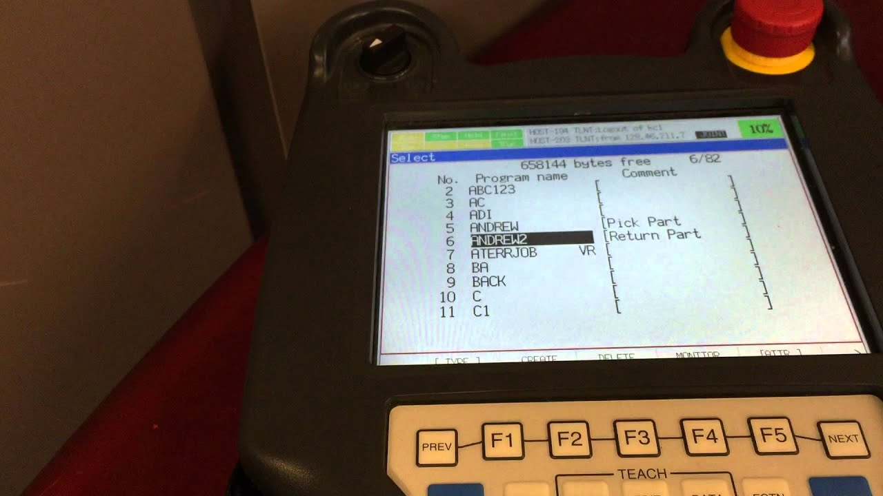 How to use C++ program to command FANUC robot run a command