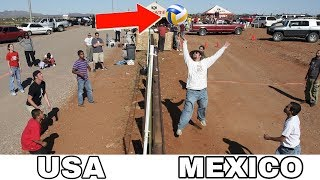 VOLLEYBALL ON BORDER !? Funny Volleyball Videos (HD)