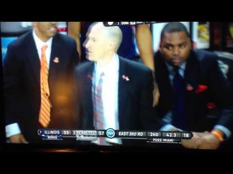 Illinois getting robbed vs Miami NCAA Tournament