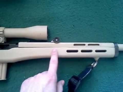 Ati Fiber Force Gun Stock On Marlin 795 Colibri Subsonic Ammo