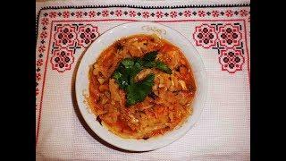 Капуста тушеная  капуста тушеная с мясом  Рецепт диетического блюда  Горячая закуска